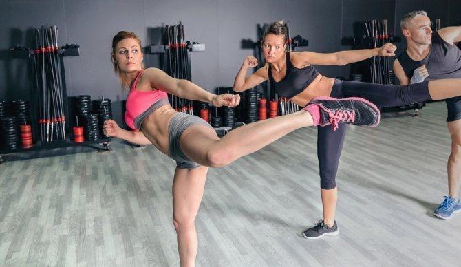 Кикбоксинг как способ снижения веса